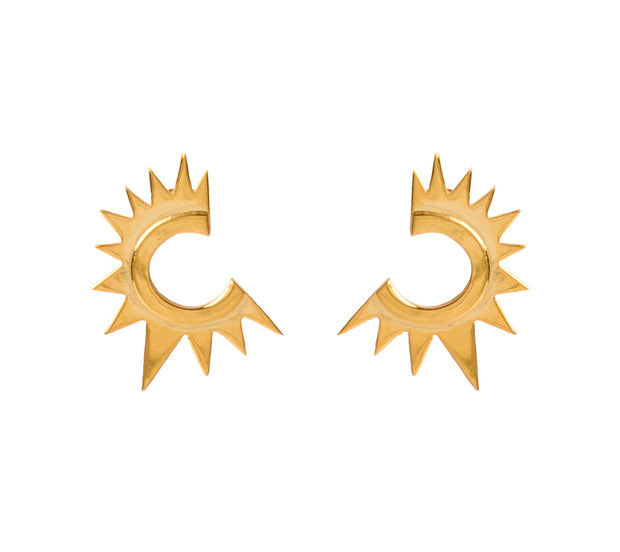 HAYA Gold Earring - ShopAuthentique