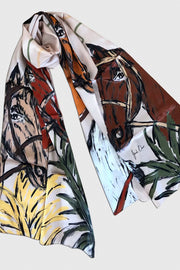 Horsey Fields | Scarf - ShopAuthentique