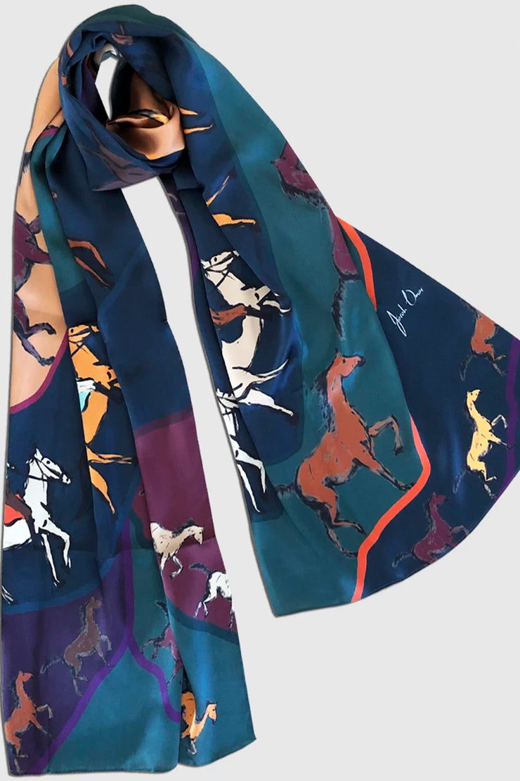 Horsey Ride | Scarf - ShopAuthentique