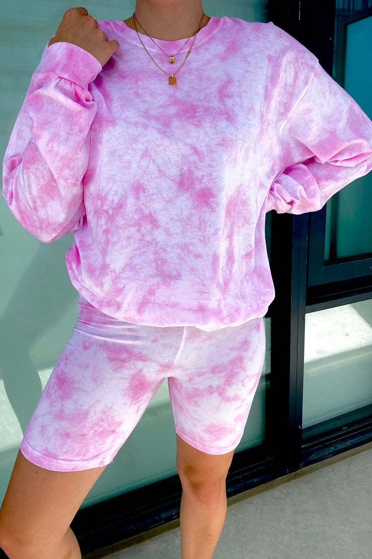 Fairy Pink Cloud Long Sleeve Tee