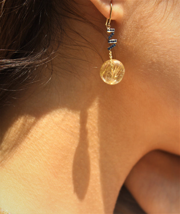 Quartz Earring - ShopAuthentique