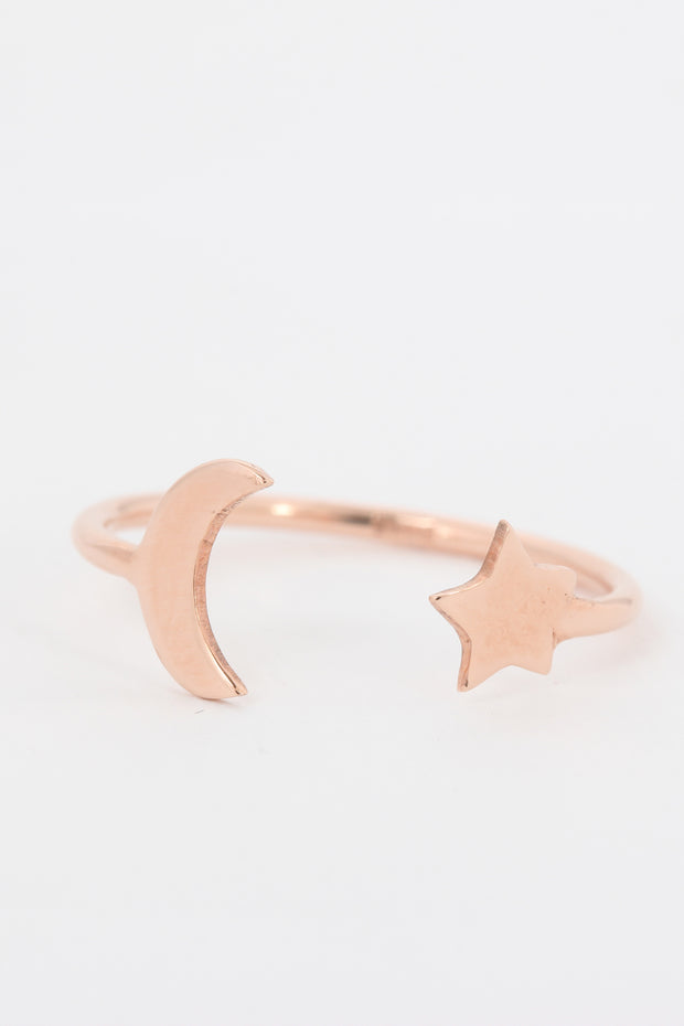 Moon & Star Ring - ShopAuthentique