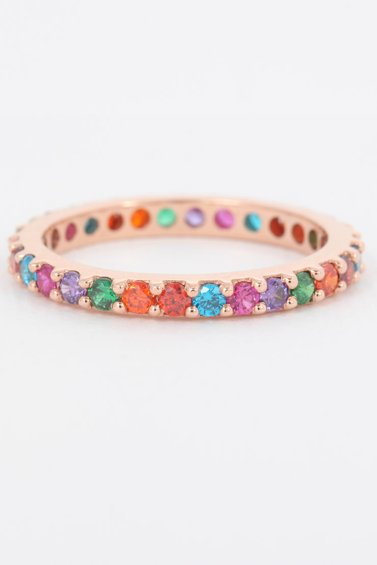 Rainbow Stone Ring - ShopAuthentique