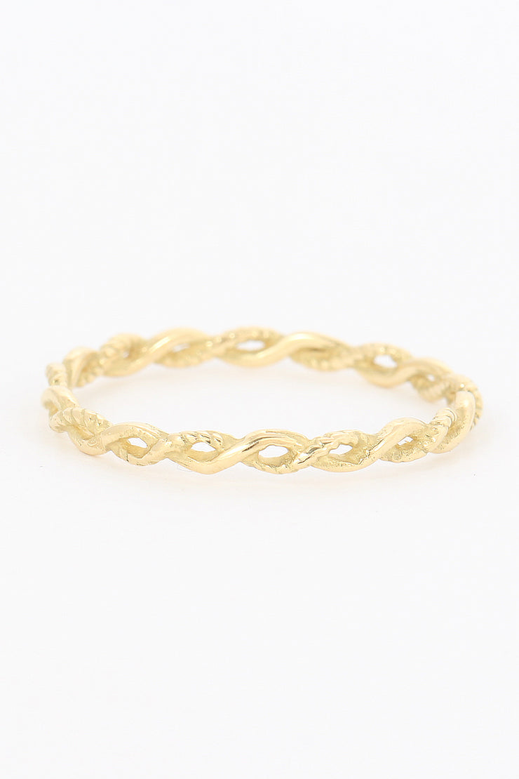 Braid Ring - ShopAuthentique