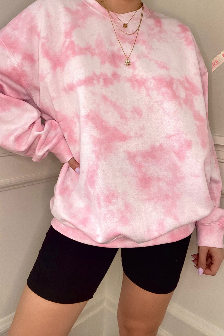 CURE foundation Cloud Crew Neck