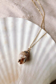 Gold Dipped Seashell - ShopAuthentique