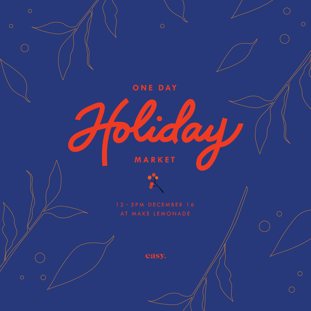 One Day Holiday Market! - ShopAuthentique