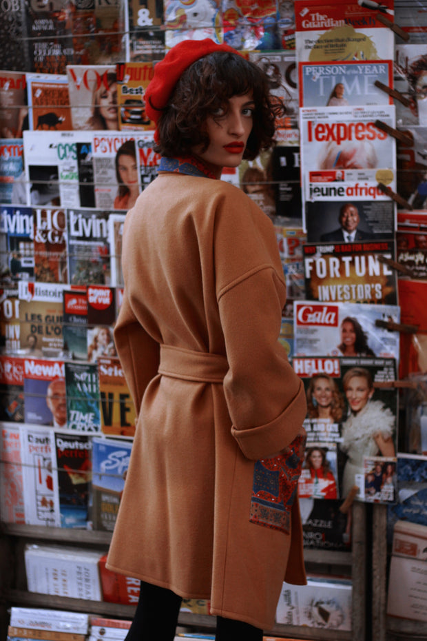Japonica Camel Coat - ShopAuthentique
