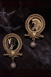 La Reine II Earrings - ShopAuthentique