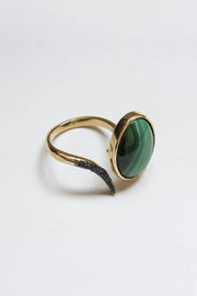 The Malachite Ring - ShopAuthentique