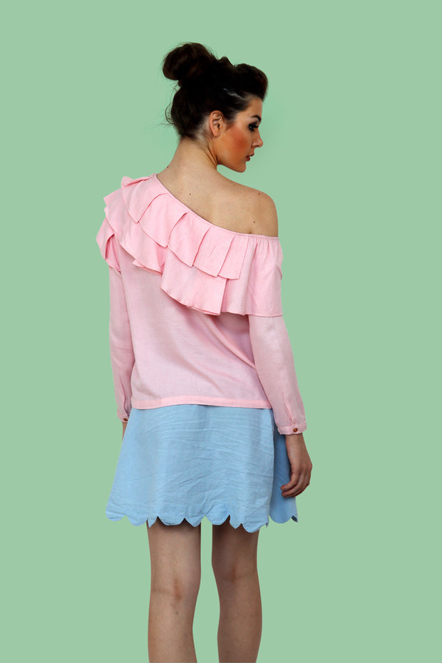 ONE SIDED STRATOSPHERE TOP - ShopAuthentique