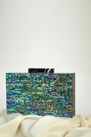Paua Clutch - ShopAuthentique