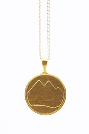 THE PYRAMID Coin Necklace - ShopAuthentique