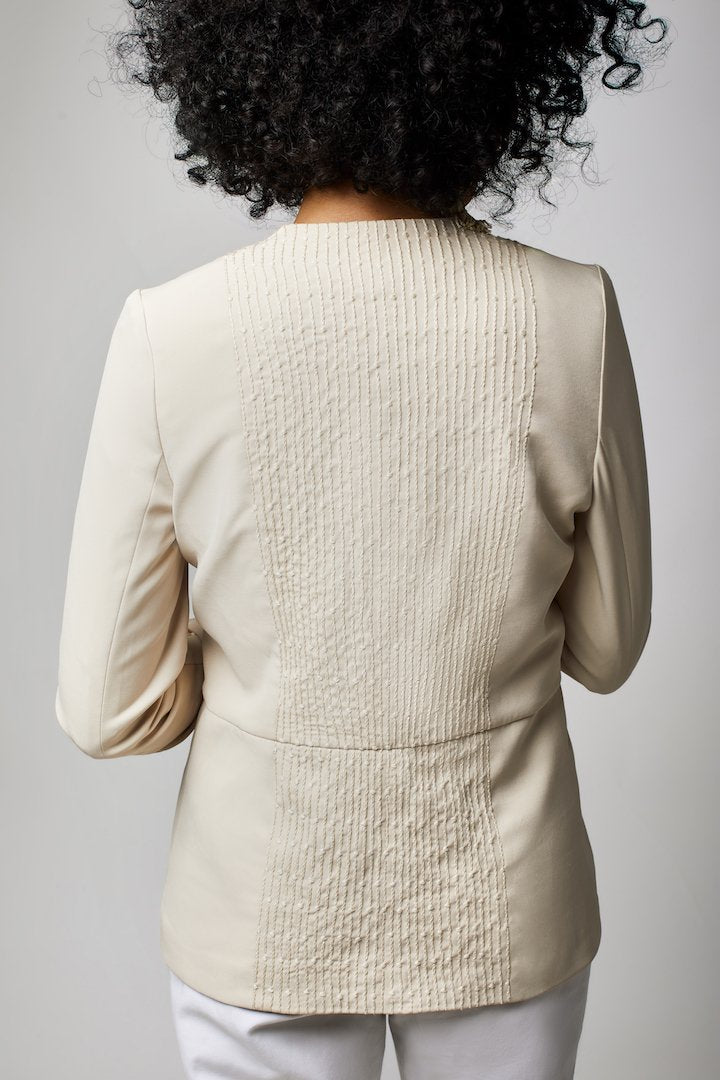The Sayeda Blazer - Beige - ShopAuthentique
