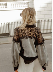 Black Lace Jacket - ShopAuthentique