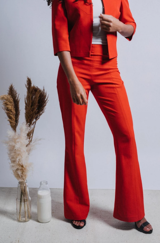 The Rosette Trouser - ShopAuthentique