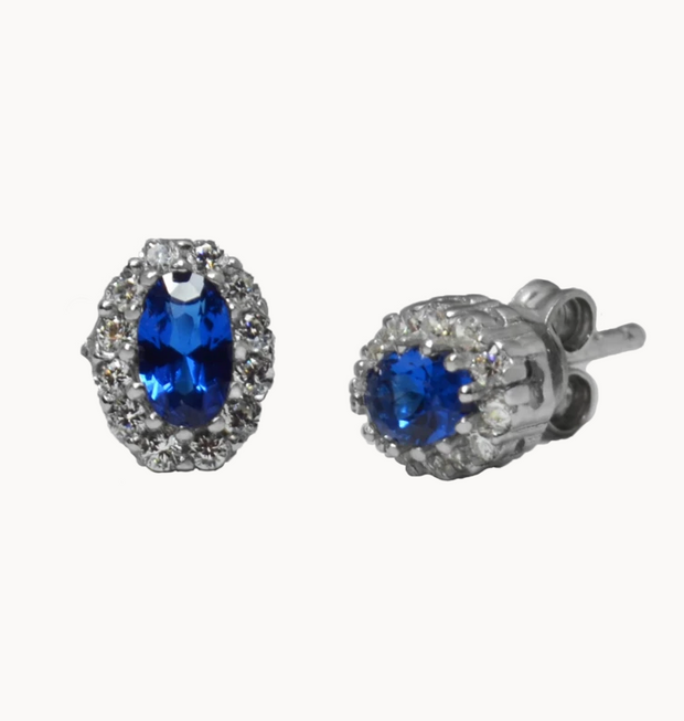The Mes Me Rize Sapphire Earrings - ShopAuthentique