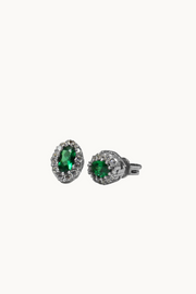 The Mes Me Rize Emerald Green Earrings - ShopAuthentique