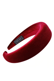 Handmade Velvet Padded Headband - ShopAuthentique