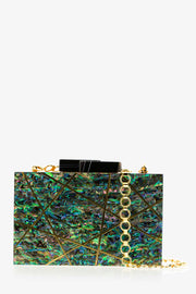 Turquoise Abalone Evolve Clutch - ShopAuthentique