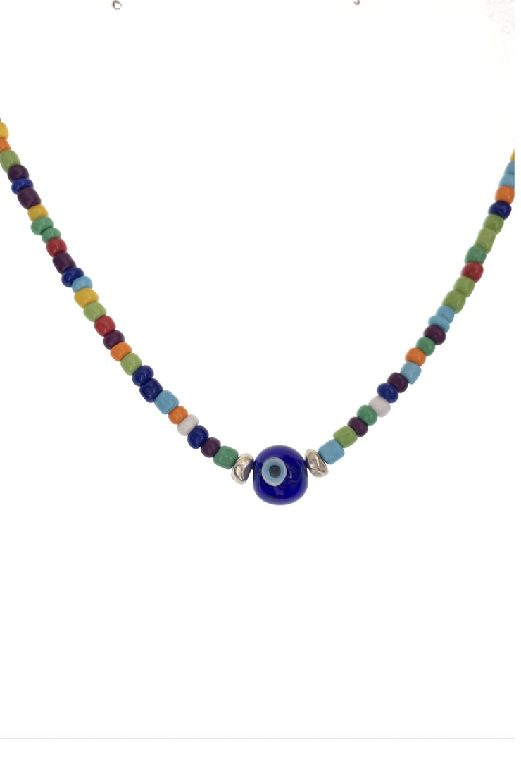 Candylicious Blue Eye Necklace