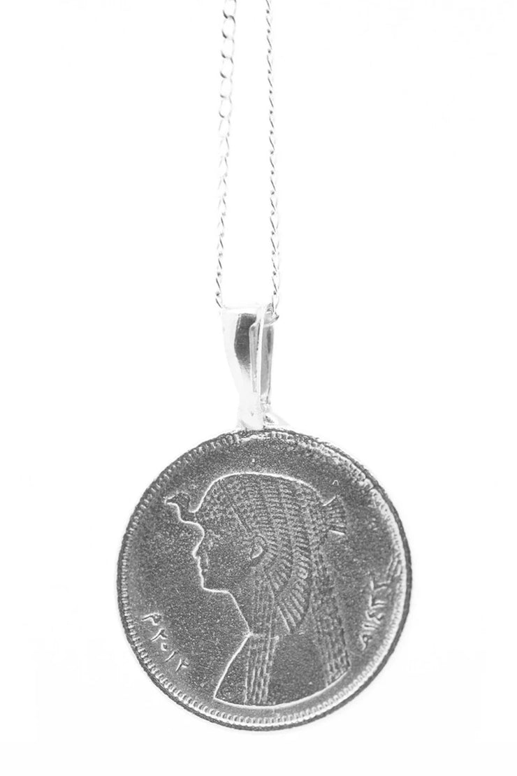 THE CLEOPATRA Coin Necklace - ShopAuthentique