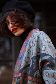 Foliage Printed Jacket - ShopAuthentique