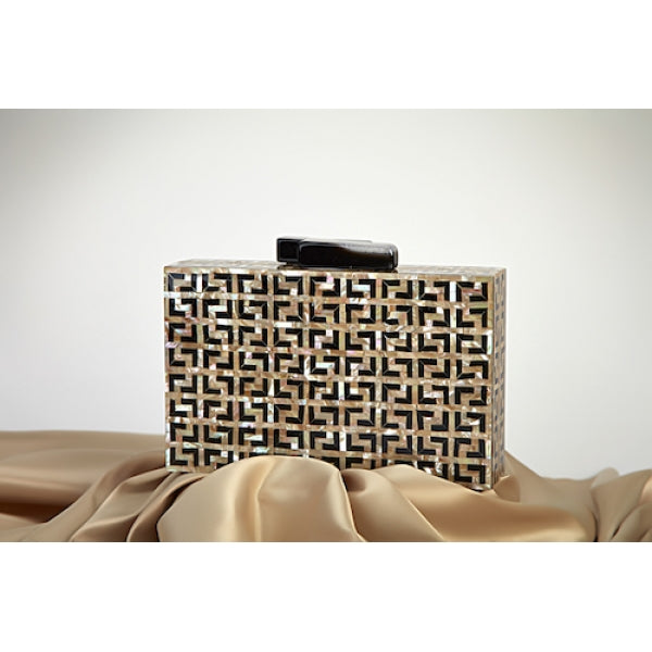 Maze Clutch - ShopAuthentique