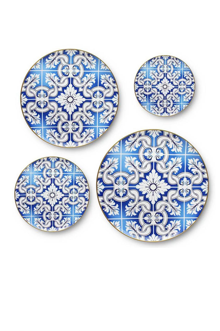 Blue Renaissance Dinnerware Set