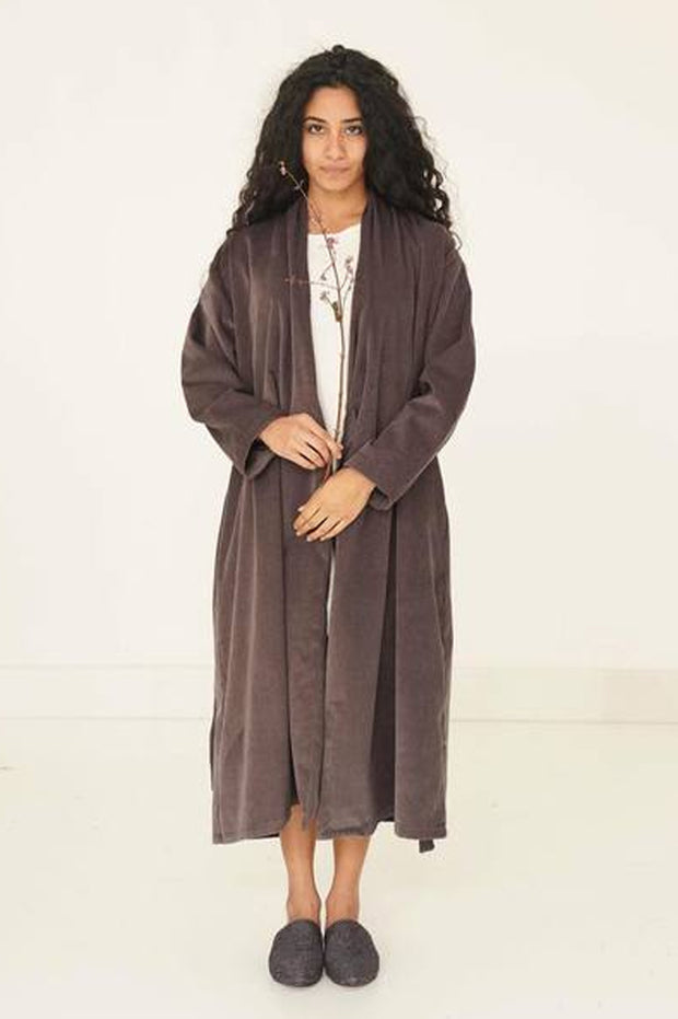 The Yoko Coat-Gray - ShopAuthentique