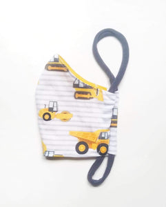 Organic Cotton Mask / KIDS / Trucks
