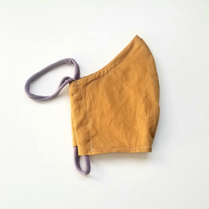 Lightweight Cotton Mask / WOMENS / Mustard