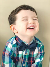 Load image into Gallery viewer, Cottontail Bow & Co. | Leo Bow Tie | Navy | Boy Bow Ties