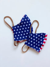 Load image into Gallery viewer, Cotton Mask | Stars & Stripes | Kids