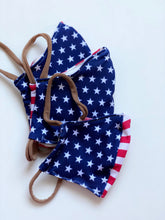 Load image into Gallery viewer, Cotton Mask | Stars & Stripes | Men