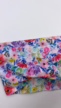 Load and play video in Gallery viewer, Ultra Soft Nylon Twist Wrap | Bright Blooms