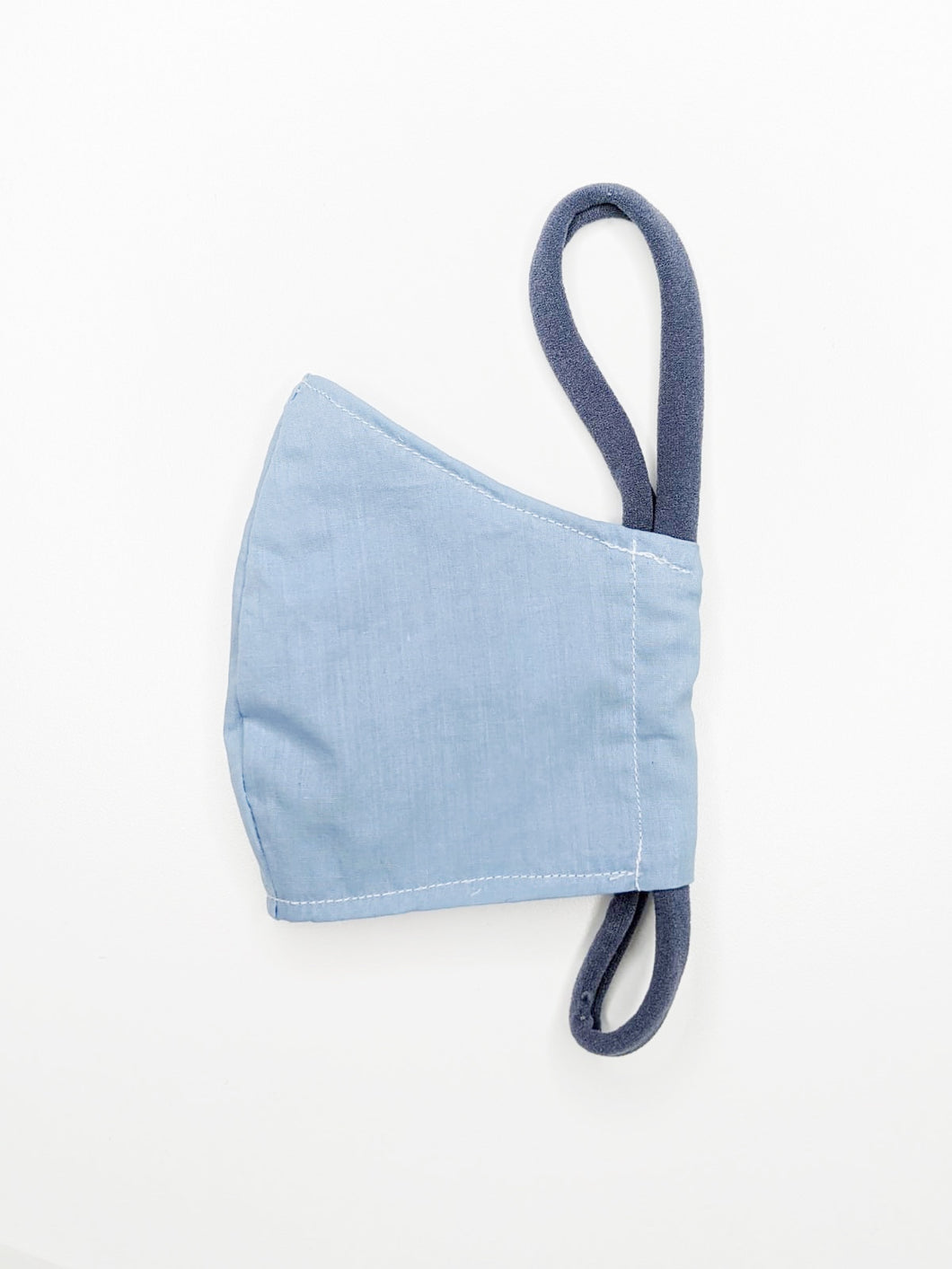 Lightweight Cotton Mask | Blue | Kids