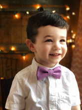 Cottontail Bow & Co. | Leo Bow Tie | Amethyst | Boy Bow Tie
