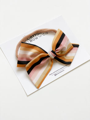 Maeve | Spellbound Stripe | Oversized | Headband
