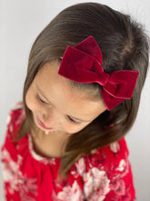 Evelyn | Santa's Suit Red Velvet | Oversized | Headband