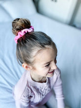 Load image into Gallery viewer, Chunky Scrunchie | Hot Pink Velvet