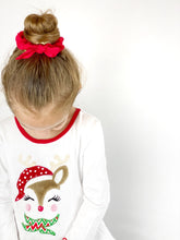 Scrunchie | Holiday Red Crinkle Cotton