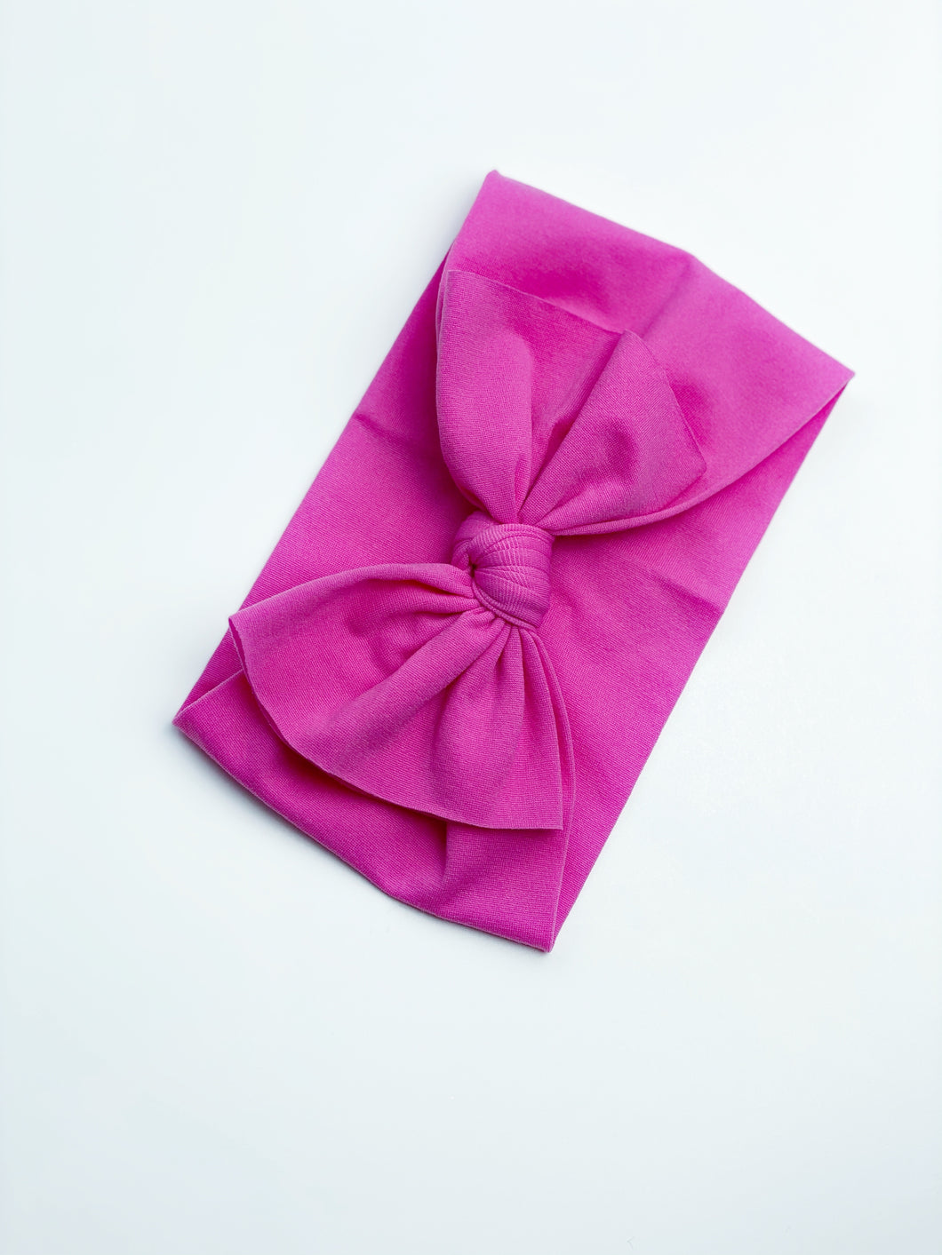 Bow Wrap | Hot Pink