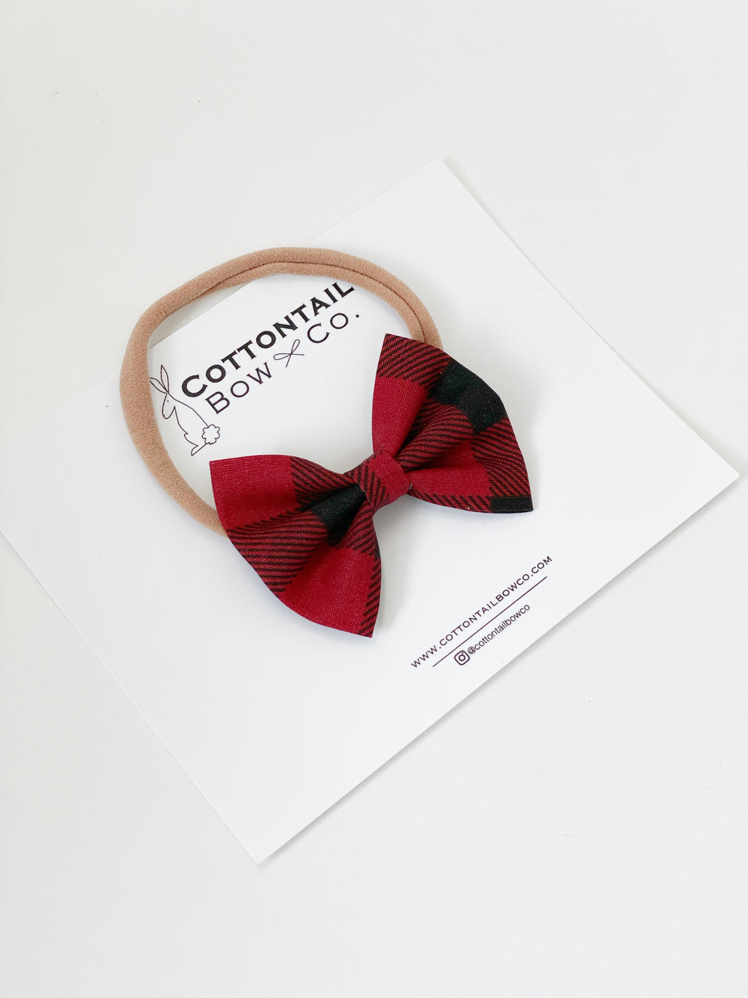 Madison | Buffalo Plaid | Mini | Headband