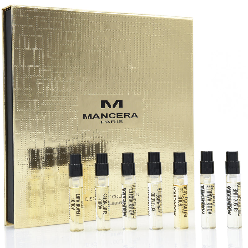 Mancera Paris Discovery Collection ~ The Best of Aouds ~ Eau de Parfum 7 x 2 mL