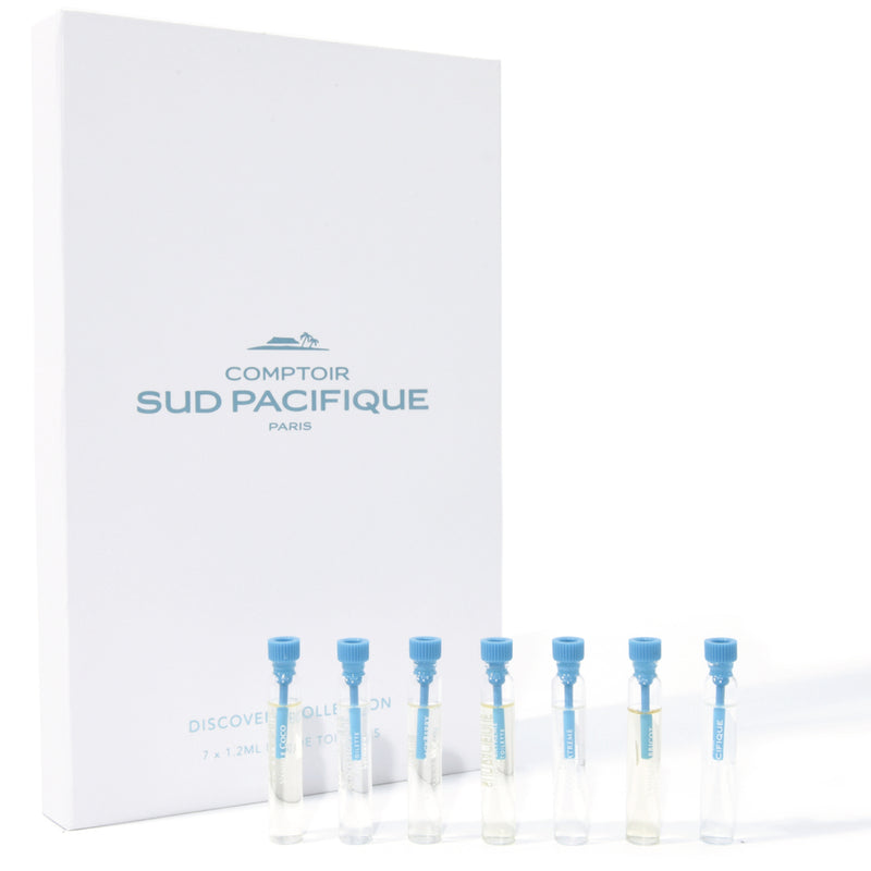 Comptoir Sud Pacifique Discovery Collection ~ Eau de Toilette 7 x 1.2 mL ~ Splash Vial