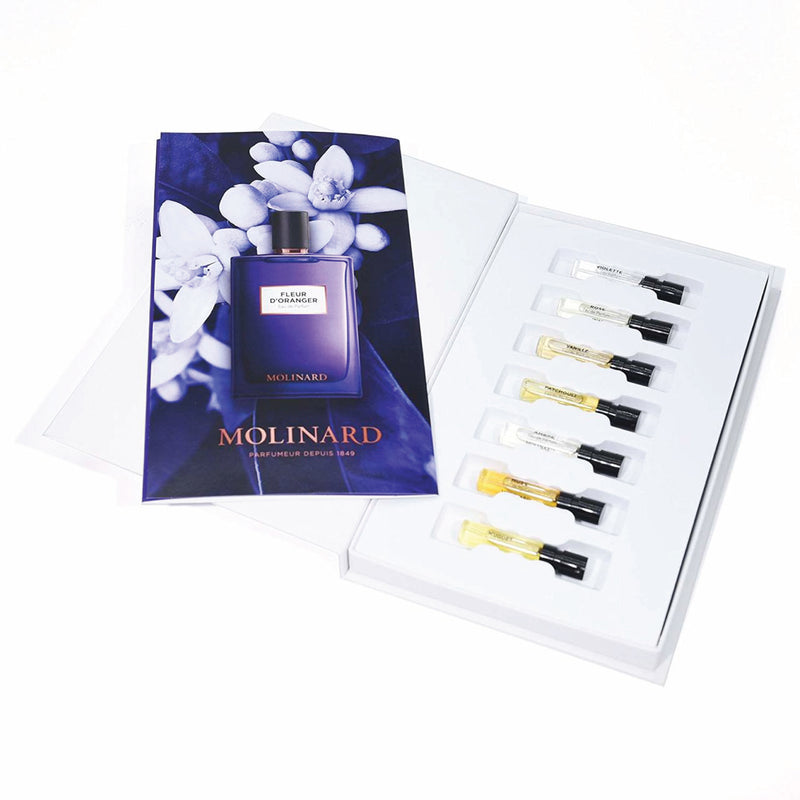 Molinard Discovery Collection ~ Eau de Parfum 7 x 2 mL