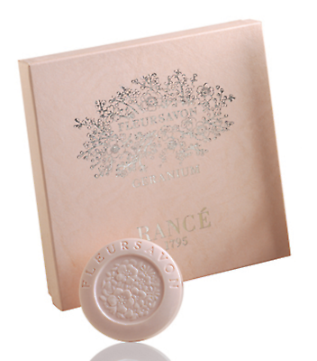 Rance 1795 Geranium Soap Box (4 x 100 g) ~ 4 Soaps In Beautiful Box