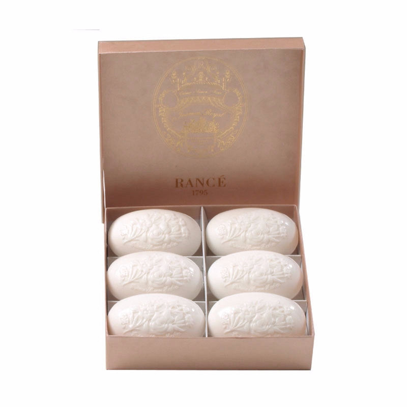 Rance 1795 Jasmine Royal Soap Box (6 x 100 g) ~ 6 Soaps in Beautiful Box