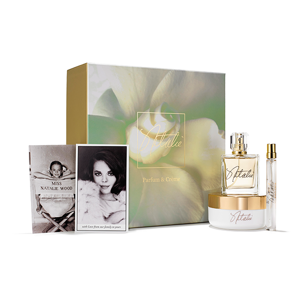 Natalie Fragrance 3-Piece Gift Set (Fragrance, Body Cream & Travel Spray) by Natalie ~ Natalie Wood